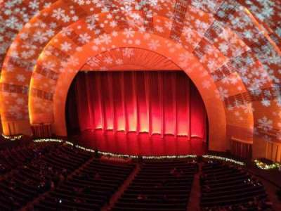 radio city music hall, section: 3rd Mezzanine 2, row: a, seat: 207
