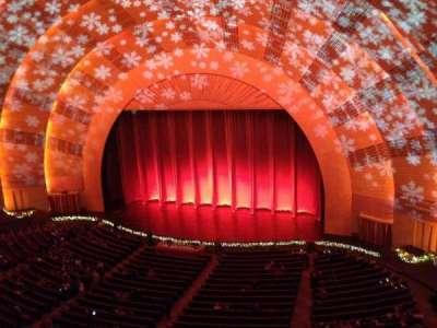 radio city music hall, section: 3rd Mezzanine, row: a, seat: 207