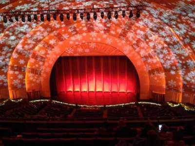 radio city music hall, section: 3rd Mezzanine, row: h, seat: 307