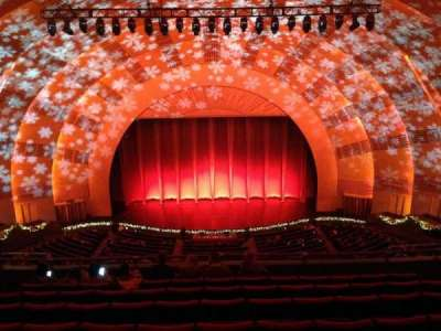 radio city music hall, section: 3rd Mezzanine, row: h, seat: 407