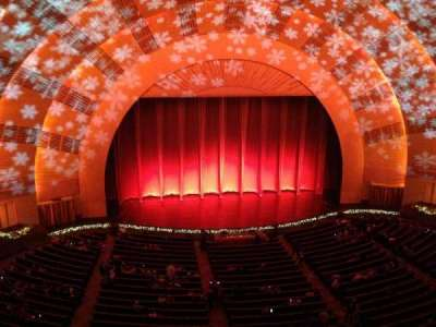 radio city music hall, section: 3rd Mezzanine, row: a, seat: 507