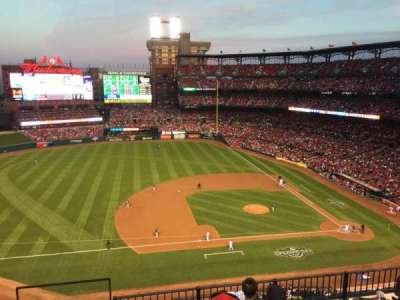 Busch Stadium, section: 357, row: 6, seat: 20