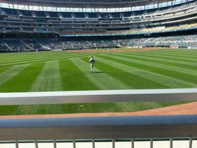 Target Field, section: 131, row: 1, seat: 1&2