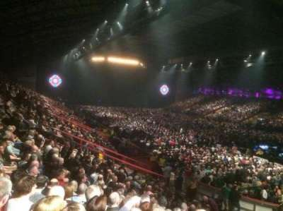 Metro Radio Arena, section: 212, row: S, seat: 283