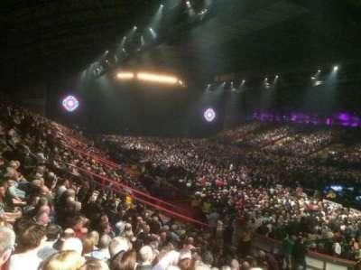 Metro Radio Arena, section: 212, row: S, seat: 283