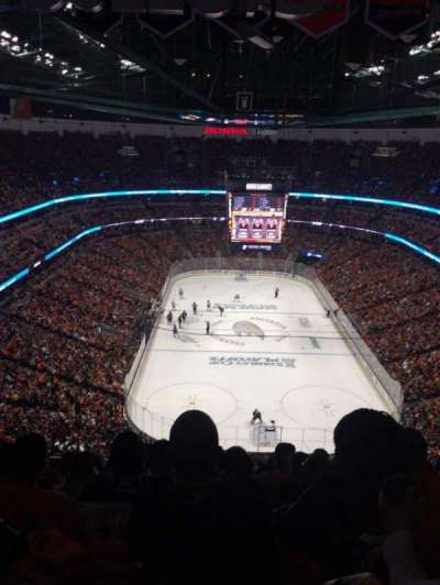 Honda Center, section: 401, row: T, seat: 8