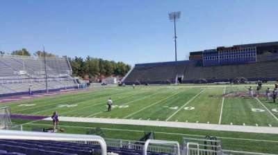 Bridgeforth Stadium, section: 106, row: i, seat: 16