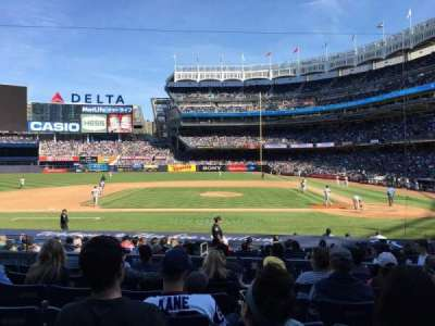 Yankee Stadium, section: 123, row: 7, seat: 8