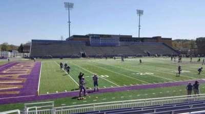 Bridgeforth Stadium, section: 110, row: i, seat: 21