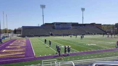 Bridgeforth Stadium, section: 111, row: i, seat: 1