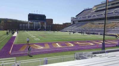 Bridgeforth Stadium, section: 120, row: l, seat: 17