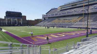 Bridgeforth Stadium, section: 121, row: l, seat: 17