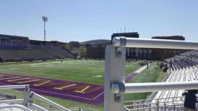 Bridgeforth Stadium, section: 215, row: p, seat: 1