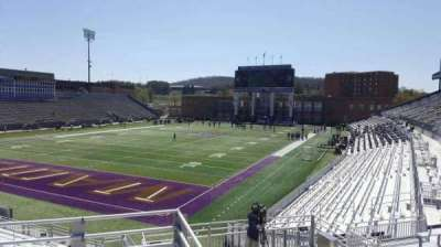 Bridgeforth Stadium, section: 214, row: g, seat: 16