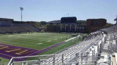 Bridgeforth Stadium, section: 214, row: g, seat: 1