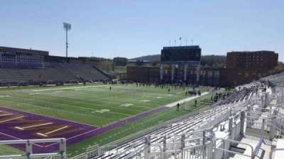 Bridgeforth Stadium, section: 213, row: f, seat: 6