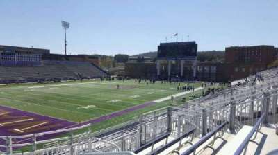Bridgeforth Stadium, section: 213, row: f, seat: 1
