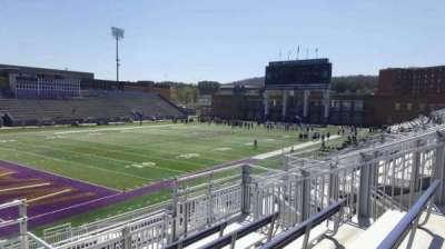 Bridgeforth Stadium, section: 212, row: e, seat: 6