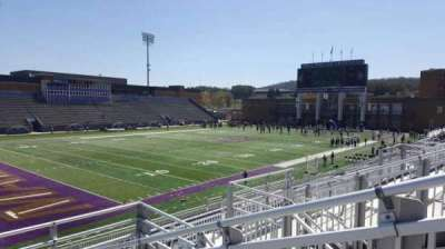 Bridgeforth Stadium, section: 212, row: e, seat: 1