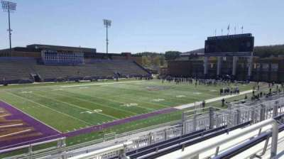 Bridgeforth Stadium, section: 211, row: g, seat: 21
