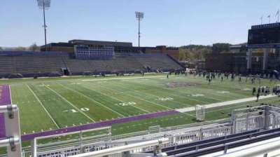 Bridgeforth Stadium, section: 210, row: g, seat: 21