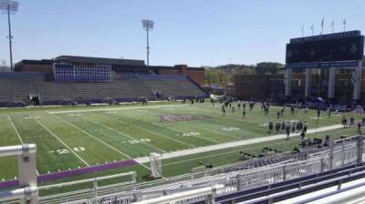 Bridgeforth Stadium, section: 209, row: g, seat: 23