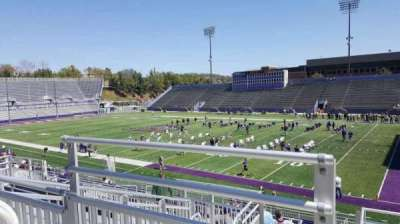 Bridgeforth Stadium, section: 201, row: g, seat: 14