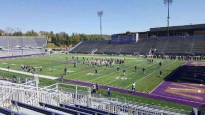 Bridgeforth Stadium, section: 201, row: g, seat: 1