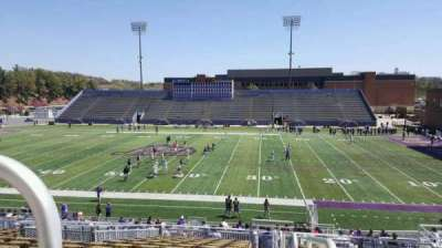 Bridgeforth Stadium, section: c1, row: m, seat: 11