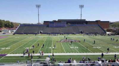Bridgeforth Stadium, section: c4, row: h, seat: 14
