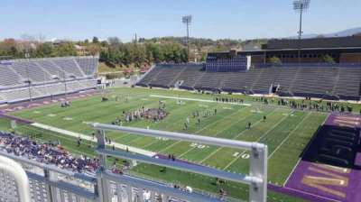 Bridgeforth Stadium, section: 302, row: b, seat: 15