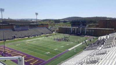 Bridgeforth Stadium, section: 312, row: b, seat: 17