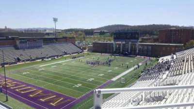 Bridgeforth Stadium, section: 314, row: b, seat: 14