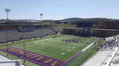 Bridgeforth Stadium, section: 314, row: b, seat: 20