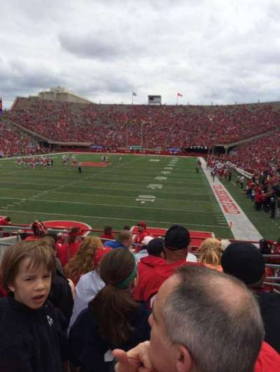 Memorial Stadium (Lincoln), section: 34