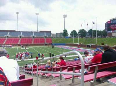 Gerald J. Ford Stadium, section: 102, row: 17