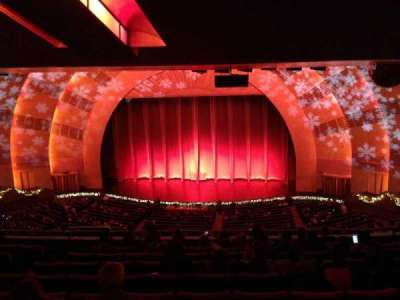 Radio City Music Hall, section: 2nd Mezzanine 3, row: K, seat: 307