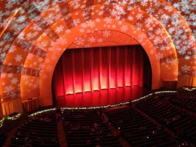 Radio City Music Hall, section: 3rd Mezzanine, row: A, seat: 605