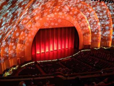 Radio City Music Hall, section: 3rd Mezzanine, row: F, seat: 709