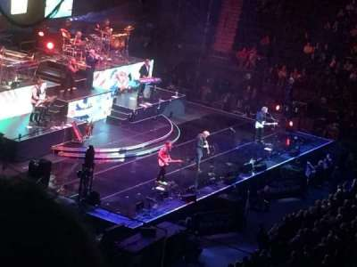 Madison Square Garden, section: 224, row: 6, seat: 19