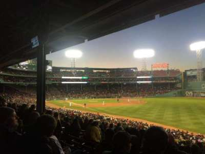 Fenway Park, section: Grandstand 7, row: 5, seat: 15