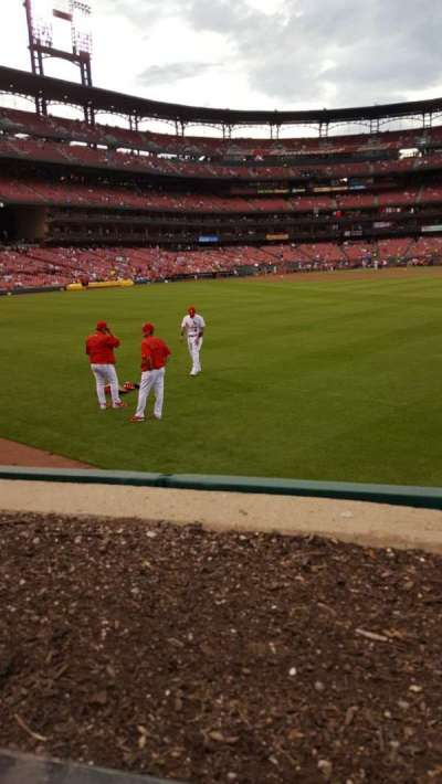 Busch Stadium section 105