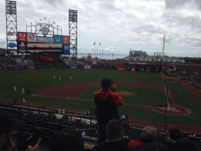 AT&T Park, section: 220, row: F, seat: 12