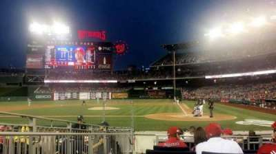 Nationals Park, section: HPS, row: K, seat: 10
