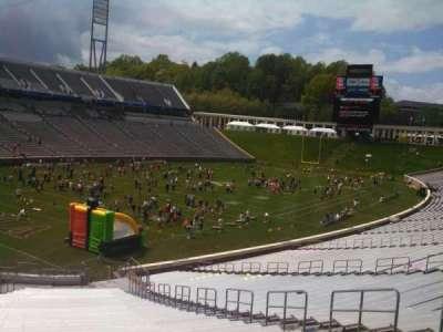 Scott Stadium, section: 113, row: OO, seat: 10
