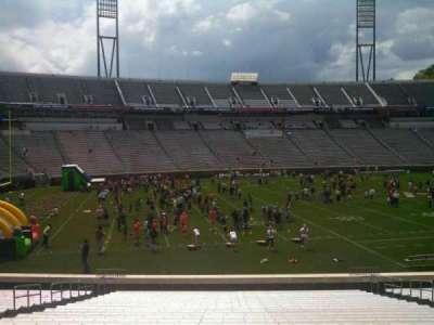 Scott Stadium, section: 110, row: AA, seat: 13