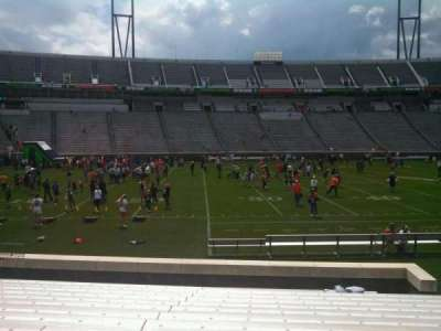 Scott Stadium, section: 109, row: P, seat: 9