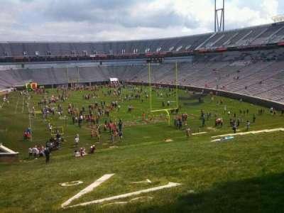 Scott Stadium, section: Hillside, row: NA, seat: NA