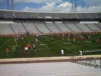 Scott Stadium, section: 128, row: S, seat: 8