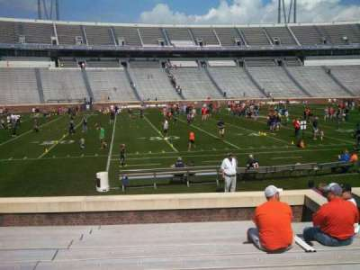 Scott Stadium, section: 127, row: M, seat: 9